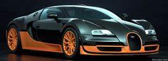 Bugatti Veyron SS 124 Facebook Covers