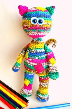 Crochet Pattern Cat Amigurumi Pattern Amigurumi Cat by AllSoCute