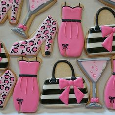 Girls Night Out Inspired Cookies!