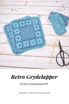 Crochet Kitchen, Crochet Home, Diy Crochet, Afghan Crochet Patterns, Crochet Poncho, Knitting Patterns, Crochet Potholders, Free Knitting, Pot Holders