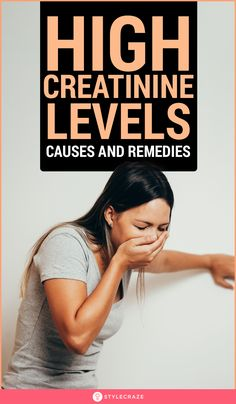 Multiple reasons might cause the kidneys to lose their function resulting in high creatinine levels, which could be fatal. Read on to know how to treat it Health Facts, Health Diet, Food For Kidney Health, Kidney Recipes, Diet Recipes, Vegan Recipes, Creatinine Levels, Kidney Friendly Foods, Healthy Kidneys
