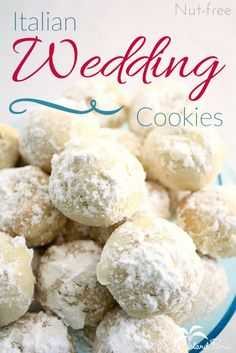 The perfect holiday dessert recipe that freezel well! These Buttery Pecan Snowball Cookies are easy, quick to fix, and delicious. Also know as Russian Tea Cakes and Mexican Wedding Cookies, these addictive cookies will be loved by the kids! Crinkle Cookies, Snowball Cookies, Xmas Cookies, Italian Christmas Cookies, Christmas Desserts Easy, Christmas Goodies, Christmas Treats, Christmas Recipes, Chip Cookies