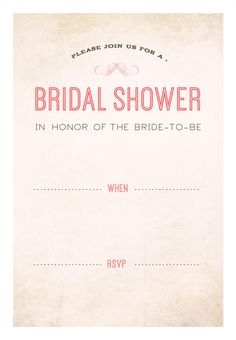Free Bridal Shower Invitations Templates Free Printable Glitter Bridal Shower Invitation Templates  Bridal .
