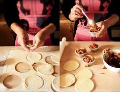 Pratos e Travessas: Tartes de maça aromáticas # Aromatic apple tarts