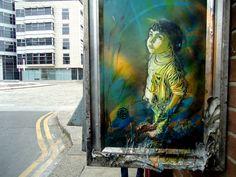 C215 - Dublin by C215, via Flickr