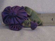 Handmade Deep Purple Silk Taffeta Brooch with by nedaoriginals, $24.00
