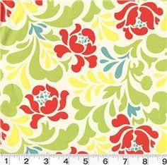 multi colored table cloth?