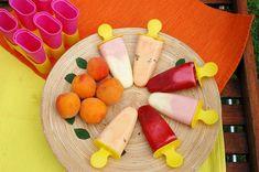 Recept+na+domácí+ovocné+nanuky Watermelon, Dairy, Cheese, Fruit, Food, Drinks, Summer, Drinking, Beverages