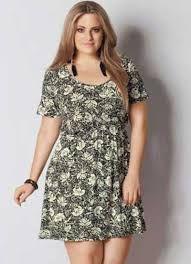 Resultado de imagem para vestido com cinto plus size