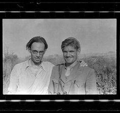 Brunete. July. 1937. CLAUD COCKBURN(left) and FRED COPEMAN, commander of British…