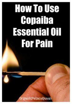 How to use copaiba oil for pain. Copaiba Oil, Copaiba Essential Oil, Essential Oils For Pain, Essential Oil Uses, Young Living Essential Oils, Essential Oils For Addiction, Elixir Floral, Doterra Oils, Doterra Blends