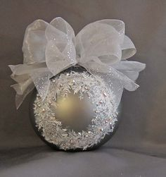 Elegant hand painted ornaments - beautiful, but not worth the $525 price tag...yikes!