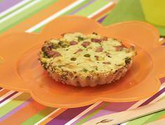 La ricetta dei tortini di prosciutto gnam gnam, un piatto goloso da accompagnare con un contorno e un frutto oppure con una minestra di verdure.