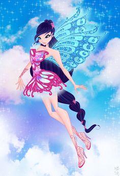 Musa butterflyix from winx club