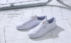 Puma Court Star: White