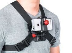 iPhone 6 Quality Chest Mount Strap for Action POV Videos Gift Accessories Car Accessories For Women, Cell Phone Accessories, Accessories Online, Extreme Activities, Content Tools, Tv Set Design, Cell Phone Mount, Recording Equipment, Gopro