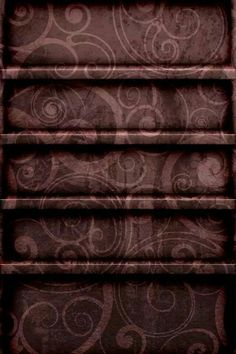Purple Paisley Shelf Wallpaper