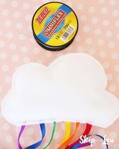 Hanging Rainbow Cloud