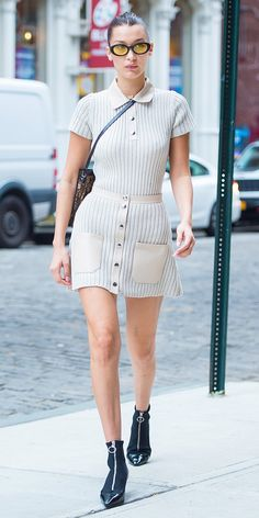 Check out the top model's best street style looks here.