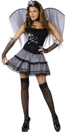Women's Funky Punk Fairy Costume