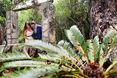 Riviera Maya Cenote wedding photo