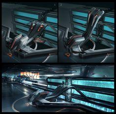 TRON Legacy - Concept art on Behance
