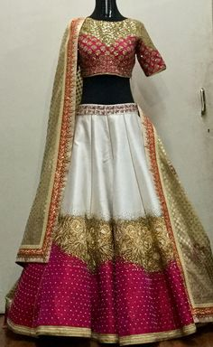 All Ethnic Customization with Hand Embroidery & beautiful Zardosi Art by Expert & Experienced Artist That reflect in Blouse , Lehenga & Sarees Designer creativity that will sunshine You & your Party Worldwide Delivery. Red Lehenga, Party Wear Lehenga, Lehenga Choli, Anarkali, Sarees, Bollywood Outfits, Bollywood Fashion, Indian Dresses, Indian Outfits
