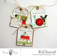 Merry Boxes & Tags | Fancy Pants Designs Studio