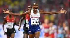 Mo Farah oo Ku Guuleystay 10000 m