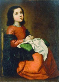 Francisco de Zurbarán (1598-1664) Childhood of the Virgin Mary
