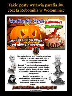 Demotywatory.pl Halloween, Movie Posters, Twitter, Fotografia, Film Poster, Billboard, Film Posters, Spooky Halloween