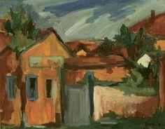 Pietro Bisio, Paesaggio, olio su tela, 80x98cm, 1961. Bugatti, Past, Opera, History, Painting, Opera House, Paintings, Historia, Draw