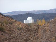 Observatorio de estrellas El Leoncito en Argentina.