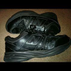 Black  new balance  shoes Worn a few times *****taking offers**** New Balance Shoes Athletic Shoes