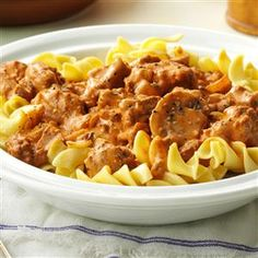 Two-Step Stroganoff Recipe -I especially like to use my slow cooker on hot summer days when I want to keep my kitchen cool. I'm always trying new recipes for different functions, but Stroganoff is a favorite I turn to again and again. - Roberta Menefee, Walcott, New York