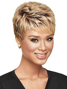 These gorgeous and pretty remy hair, synthetic wig care and short wigs provides here will meet your each requirement for a good xiu zhi mei 6 african american blonde ombre wig with bangs, short hair cuts for curly hair wigs for black women. Haircuts For Fine Hair, Short Pixie Haircuts, Pixie Hairstyles, Textured Hairstyles, Straight Haircuts, Straight Bangs, Hairstyle Short, Long Haircuts, Blonde Hairstyles