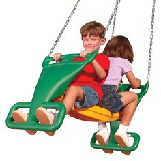Swing-n-slide 2 For Fun Multi Child Glider