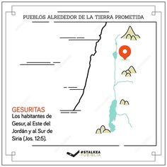 Pueblos alrededor de la tierra prometida: Los Gesuritas.