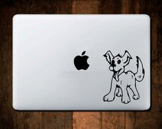 Cute Puppy Decal Dog Vinyl Car Window Truck Laptop MacBook Sticker #518 by NebraskaVinyl on Etsy