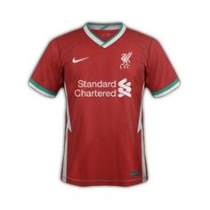 Nike's first Liverpool Jersey Soccer -red Cool Jackets For Men, Mo Salah, Liverpool Fc, Premier League, Cool T Shirts, 21st, Soccer, Football, Nike