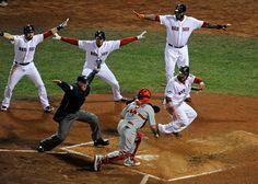 Red Sox win World Series. Woo Hoo!!!