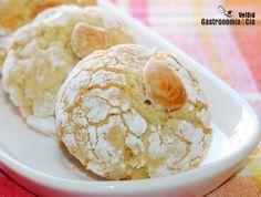 Galletas de nata y almendra