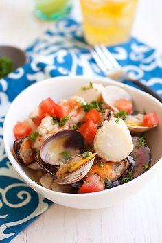 Thai-style Steamed Clams | Recipe | Steamed Clams, Clams and Rasa ...