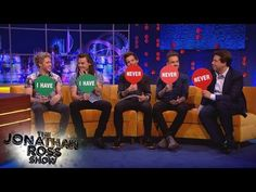 One Direction Play Never Have I Ever - The Jonathan Ross Show - YouTube