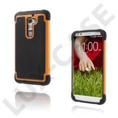 Impact (Oransje) LG G2 Ultra-Sikkert Deksel