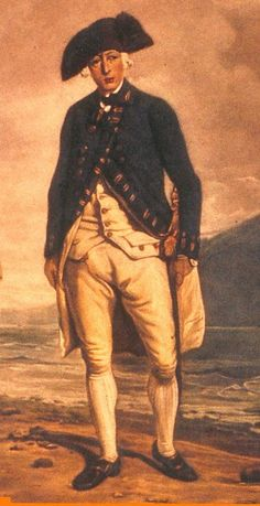 Captain Arthur Phillip, Played a big part iin Australia's history. Aboriginal History, Aboriginal People, Malayan Emergency, Famous People In History, Arthur Phillip, Aussie Australia, First Fleet, Australian Icons, Penal Colony