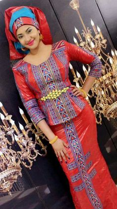 Malian Fashion bazin