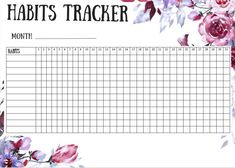 Planner Pages, Printable Planner, Free Printables, Organization Hacks, Getting Organized, Diary Book, Notebook, Bullet Journal, Notes