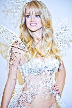 Victoria's Secret Debuts 3D-Printed Lingerie During Fashion Show By Daniel Perez on 11/26/2013