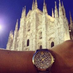 Travel Around The World, Around The Worlds, Milan Duomo, Always On Time, Wood Watch, Travel Photos, Shops, Watches, Travel Pictures